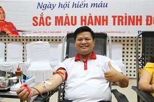 Ngày hội hiến máu 'Sắc màu Hành trình Đỏ' 2019