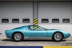 Hồi sinh siêu xe Lamborghini Miura đời 1971 đẹp như mới