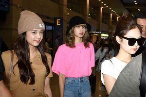 Jisoo rạng rỡ đối lập với Jennie, áp đảo nhan sắc 'Phạm Băng Băng Hàn Quốc' tại sân bay