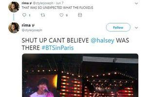 Halsey bất ngờ xuất hiện trong concert của BTS ở Paris