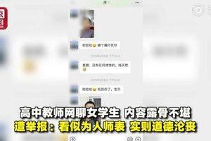 Giáo viên bị tống giam 10 ngày vì gạ tình, gửi video nhạy cảm cho nữ sinh gây phẫn nộ