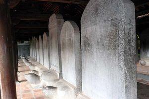 Bia tiến sĩ tại Văn Miếu - Quốc Tử Giám được xây dựng từ khi nào?