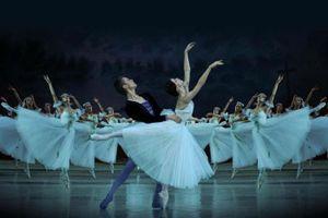 Các nghệ sĩ Nga trình diễn vở kịch ballet Giselle tại Việt Nam