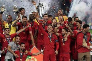 Dàn sao Bồ Đào Nha rạng rỡ phút đăng quang UEFA Nations League