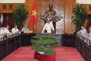 Thủ tướng Chính phủ làm việc với lãnh đạo chủ chốt tỉnh Thừa Thiên - Huế