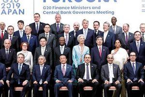 G20: Căng thẳng thương mại đe dọa tăng trưởng toàn cầu