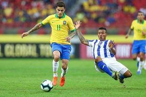 Brazil cần Coutinho vươn mình thay thế vai trò Neymar