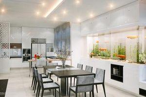 Đặt bàn ăn theo phong thủy để tránh gia đình bất hòa