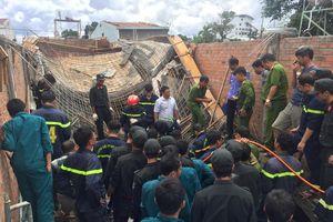 Vụ sập giàn giáo, chủ thầu tử vong ở Pleiku: Công trình bị sụt lún