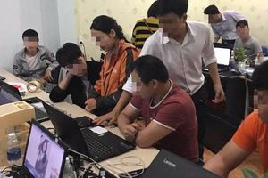 Triệt phá đường dây đánh bạc xuyên quốc gia, bắt giữ 77 nghi phạm người nước ngoài