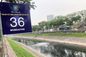 Sau 3 tuần thí điểm xử lý ô nhiễm sông Tô Lịch: Chưa rõ chi phí và hiệu quả