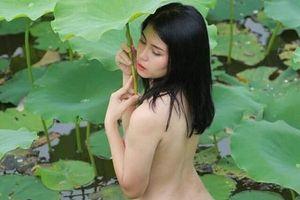 Sau Trâm Anh, Cu Thóc, phim 'Siêu quậy' lại gặp hạn vì diễn viên chụp nude ở hồ sen