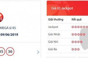 Xổ số Vietlott: Cuối cùng giải Jackpot Mega 6/45 cũng 'nổ' ở mức hơn 34 tỷ đồng