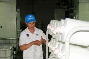 Nhà máy xơ sợi Đình Vũ tăng công suất, đảm bảo ổn định chất lượng sợi DTY