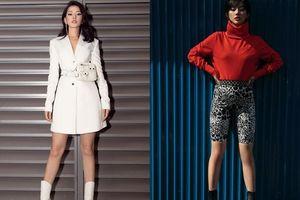 Chi Pu bỗng cá tính 'chất như nước cất', Khánh Linh chơi trội với set đồ 'thời trang phang thời tiết'