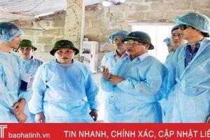 Ban Thường vụ Tỉnh ủy Hà Tĩnh chỉ thị tăng cường phòng chống, khống chế dịch tả lợn Châu Phi