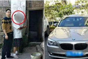 Người nông dân Trung Quốc ăn trộm gà để đổ xăng cho xe BMW