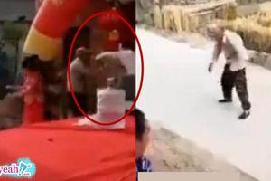 Chú rể đánh bố vợ ngay giữa đám cưới, cô dâu vào can cũng bị chồng 'thượng cẳng chân, hạ cẳng tay'