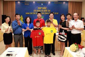 27 đội bóng tham gia Giải bóng dành cho trẻ em có hoàn cảnh đặc biệt
