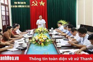 Ban Văn hóa - Xã hội HĐND tỉnh giám sát tại Sở Lao động-Thương binh và Xã hội