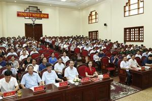 Ninh Bình: Quán triệt nội dung Hội nghị Trung ương 10 (khóa XII)