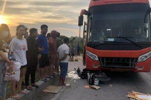 Người phụ nữ bị xe khách tông tử vong thương tâm trên QL1A