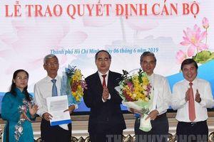 TP. HCM trao quyết định cho 2 tân Phó Chủ tịch