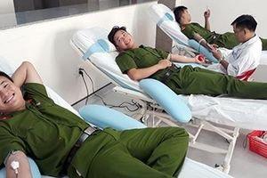 Lan tỏa phong trào hiến máu tình nguyện trong tuổi trẻ Công an