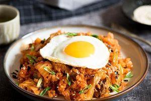 Công thức làm cơm kim chi Hàn Quốc trong nháy mắt cho người bận rộn