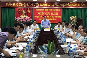 Hoàng Mai: Bố trí nhà tạm cư cho dân tòa nhà A7 - Tân Mai trong trường hợp nguy hiểm