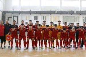 Giao hữu tại Iran, U20 futsal Việt Nam thắng đậm U20 Mes Sungun