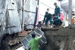 Cà Mau liên tiếp xảy ra sạt lở, nhiều hộ dân bị ảnh hưởng