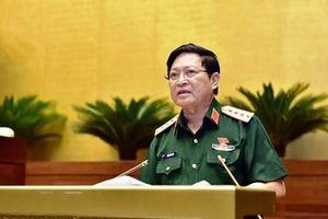 Đại tướng Ngô Xuân Lịch: Việc quy định tỷ lệ dự phòng đối với đơn vị dự bị động viên từ 10 đến 15% là phù hợp