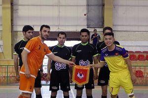 U20 futsal Việt Nam thi đấu với các nhà vô địch châu Á