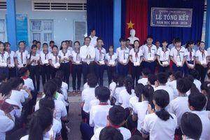 Cà Mau: HS Trường THCS Tân Lộc không còn cảnh đi học xa nhà