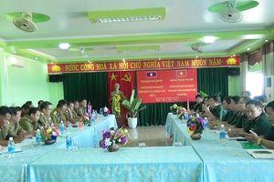 BĐBP Quảng Trị và Công an tỉnh Salavan, Savannakhet giao ban 6 tháng đầu năm 2019