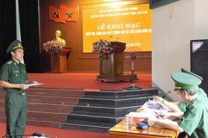 BĐBP Lào Cai: Kiểm tra đánh giá, chất lượng cán bộ cửa khẩu