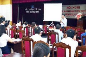 BHXH tỉnh Quảng Ninh: Tập huấn kỹ năng tuyên truyền chính sách BHXH, BHYT