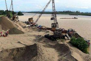 Hà Nội quyết xóa bến bãi tập kết cát, sỏi trái phép trước ngày 31/7