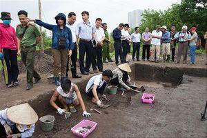 Lại phát hiện mộ táng Đông Sơn ở di chỉ 3.500 tuổi Vườn chuối
