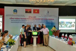 Ra mắt Cổng thông tin điện tử doanh nghiệp Việt Nam - Angola