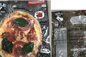 Hàng loạt bánh pizza đông lạnh bị thu hồi vì chưa được kiểm tra trước khi ra thị trường