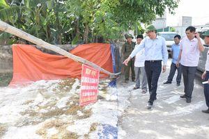 Nhiều chốt chặn dịch tả lợn châu Phi ở Nghệ An chưa đảm bảo yêu cầu