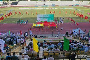 Chính thức khai mạc Giải Bóng đá Thiếu niên-Nhi đồng Cúp Báo Nghệ An lần thứ XXIII-2019