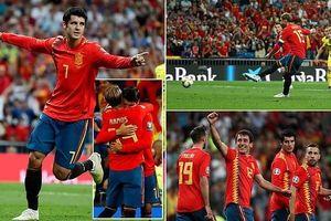 Ramos, Morata lập công giúp Tây Ban Nha hạ Thụy Điển ở Vòng loại Euro 2020