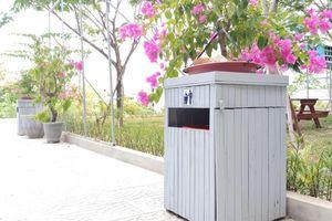 Huế: 'Thùng rác thân thiện' từ vật liệu tái chế, góp phần bảo vệ môi trường tại giảng đường