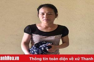 Công an huyện Quảng Xương bắt đối tượng liên tiếp gây ra 4 vụ trộm cắp tài sản