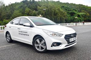 Mẫu xe hạng B Accent trở lại vị thế dẫn đầu doanh số Hyundai trong tháng 5/2019