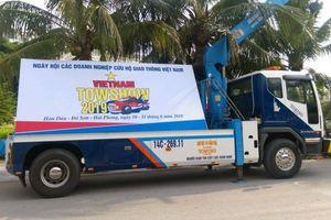 100 doanh nghiệp cứu hộ giao thông về dự VietNam TowShow 2019