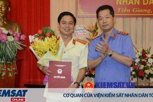Chánh văn phòng VKSND tỉnh Tiền Giang được bổ nhiệm giữ chức vụ Phó Viện trưởng tỉnh